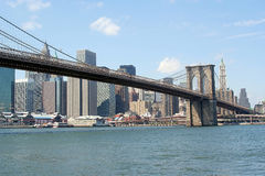 Brooklyn most Zdjęcie Stock