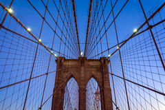 Brooklyn most słońca Zdjęcie Royalty Free