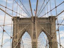 Brooklyn most w nowym Jorku fotografia stock