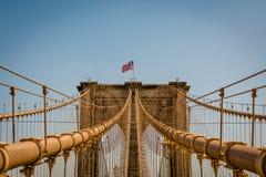 Brooklyn most w nowym Jorku Obraz Royalty Free