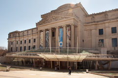 Brooklyn museum Stock Photography