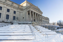Brooklyn Museum the Morning After Royalty Free Stock Photography