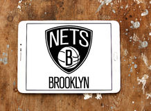 Brooklyn Nets american basketball team logo Stock Photography