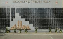 Pompieri caduti FDNY commemorativi a Brooklyn, NY. Fotografie Stock Libere da Diritti