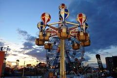 BROOKLYN, NEW YORK - 31 de maio Coney Island Luna Park em Brooklyn Imagem de Stock Royalty Free