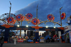 BROOKLYN, NEW YORK - 31. Mai Coney Island Luna Park Lizenzfreies Stockfoto