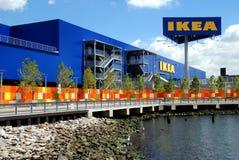 Brooklyn, NY: Der IKEASuperstore Stockfotografie