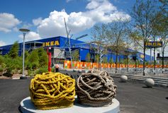 Brooklyn, NY: IKEA-Superspeicher Lizenzfreies Stockbild
