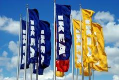 Brooklyn, NY : Indicateurs d'IKEA image libre de droits