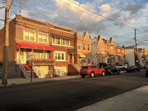 Brooklyn NY. Street in Brooklyn , New York, USA Royalty Free Stock Photography