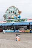 Brooklyn, NY / USA - JUN 01 2018: Famous restaurant on broadwalk in Coney Island stock image