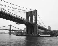 Brooklyn och Manhattan överbryggar Arkivbilder