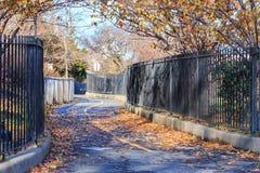 Brooklyn Park im Fall Lizenzfreie Stockbilder