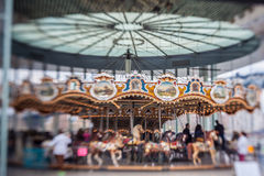 Brooklyn Park Jane Carousel Royalty Free Stock Image