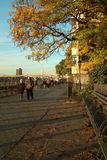 Brooklyn Heights Promenade, New York USA Stock Photography