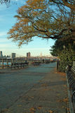Brooklyn Promenade Autumn, New York USA Stock Photography