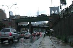 Brooklyn Rainy Day stock video
