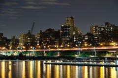 Brooklyn reflections stock photos