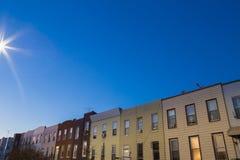 Brooklyn Residential Neighborhood Royalty Free Stock Photography