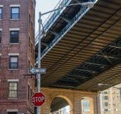 Brooklyn`s sky Royalty Free Stock Photography