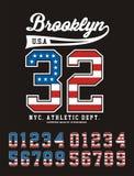 Brooklyn Athletics Royalty Free Stock Image
