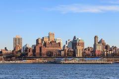The Brooklyn Skyline Royalty Free Stock Photography