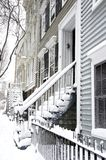 Brooklyn Snow Royalty Free Stock Photography