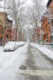 Brooklyn Snow Royalty Free Stock Images