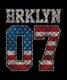 Brooklyn sportif Illustration Libre de Droits