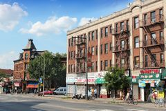 Brooklyn street Stock Photo