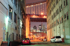 Brooklyn street view Royalty Free Stock Images