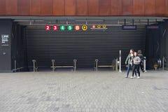 Brooklyn-U-Bahnstation Lizenzfreie Stockfotos