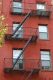 brooklyn ucieczki ogienia mieszkania Obrazy Stock