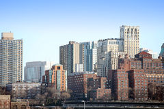 Brooklyn view from Manhattan Stock Image