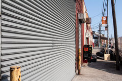Brooklyn warehouse district Royalty Free Stock Photography