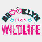 Brooklyn wildlife party Royalty Free Stock Image