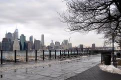 Brooklyn wzrostów deptak fotografia royalty free