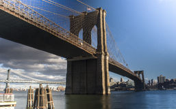 BrooklynBridge Royalty Free Stock Photos