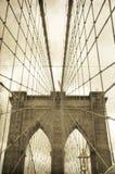 Brooklyns bro arkivbild