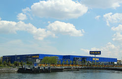 Brooklyns IKEA stormarknad Arkivfoto