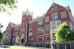Brookman byggnad, östlig universitetsområde för stad, universitet av södra Australien Royaltyfri Foto