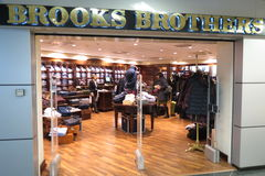 Brooks Brothers brand store Royalty Free Stock Photo