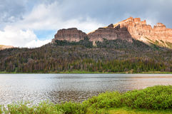 Brooks Lake. In the Absaroka Range in Wyoming Royalty Free Stock Photography
