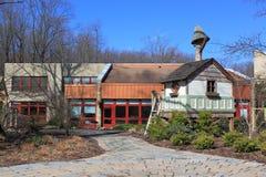 Brookside trädgård Arkivbild