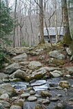 Brookside kabina Fotografia Stock