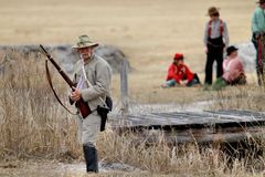 Brooksville Raid Re-enactment Stock Image
