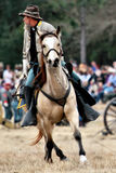 Brooksville Raid Re-enactment Royalty Free Stock Photo