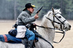 Brooksville Raid Re-enactment Royalty Free Stock Images