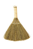 Broom. Small broom on white background Royalty Free Stock Photos