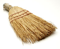 Broom. Short little broom royalty free stock image